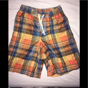 Nautica Plaid Swim Shorts